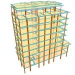 Calculo de estructura de bloque de 24 viviendas en Fuenlabrada (Madrid)