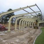 Cálculo de estructura de marquesina de salida campo de prácticas Campo de Golf Faisanera Golf (Segovia)