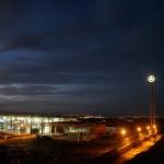Torre Estrella Mercedes de 30 mts de altura Concesionario Mercedes Benz. Cartagena (Murcia)