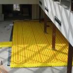 Estudio de Suelo radiante en Edificio de Guardia de Corps La Granja de San Ildefonso (Segovia)