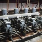 Instalación de producción de frio para secado de jamones