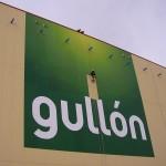 Desarrollo Técnico de Montaje de Imagen Corporativa Galletas Gullón Aguilar de Campoo (Palencia)
