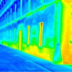 Estudio de humedades en fachada